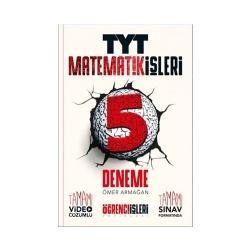 Öğrenci İşleri Yayınları - Öğrenci İşleri Yayınları Matematik İşleri TYT Matematik 5 Deneme
