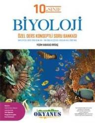 Okyanus Yayınları - Okyanus Yayınları 10. Sınıf Biyoloji Özel Ders Konsepli Soru Bankası