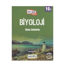 Okyanus Yayınları - Okyanus Yayınları 10. Sınıf Biyoloji Özel Ders Konseptli Konu Anlatımı