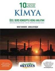 Okyanus Yayınları - Okyanus Yayınları 10. Sınıf Kimya Özel Ders Konsepli Konu Anlatımlı