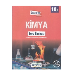 Okyanus Yayınları - Okyanus Yayınları 10. Sınıf Kimya Özel Ders Konseptli Soru Bankası