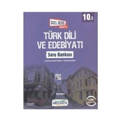 Okyanus Yayınları - Okyanus Yayınları 10. Sınıf Türk Dili ve Edebiyatı Özel Ders Konseptli Soru Bankası