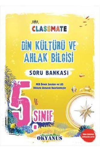 Okyanus Yayınları 5. Sınıf Classmate Din Kültürü ve Ahlak Bilgisi Soru Bankası