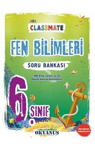 Okyanus Yayınları 6. Sınıf Classmate Fen Bilimleri Soru Bankası