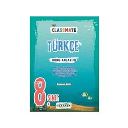 Okyanus Yayınları - Okyanus Yayınları 8. Sınıf Classmate Türkçe Konu Anlatımı