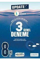 Okyanus Yayınları - Okyanus Yayınları 8. Sınıf LGS 1. Dönem Update 3 Genel Deneme