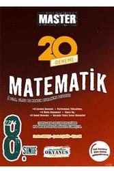 Okyanus Yayınları - Okyanus Yayınları 8. Sınıf Master Matematik 20 Deneme