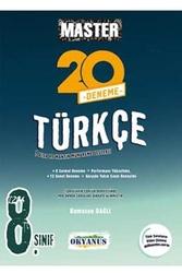 Okyanus Yayınları - Okyanus Yayınları 8. Sınıf Master Türkçe 20 Deneme