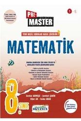 Okyanus Yayınları - Okyanus Yayınları 8. Sınıf Premaster Matematik Soru Bankası