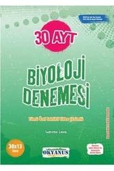 Okyanus Yayınları - Okyanus Yayınları AYT Biyoloji 30 Deneme