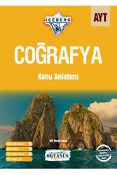 Okyanus Yayınları - Okyanus Yayınları AYT Coğrafya Iceberg Konu Anlatımı