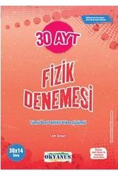 Okyanus Yayınları - Okyanus Yayınları AYT Fizik 30 Deneme