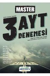 Okyanus Yayınları - Okyanus Yayınları AYT Master 3 Deneme