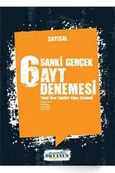 Okyanus Yayınları - Okyanus Yayınları Sayısal Sanki Gerçek AYT 6 Denemesi