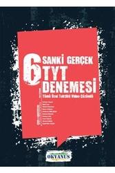 Okyanus Yayınları - Okyanus Yayınları TYT 6 Sanki Gerçek Denemesi