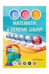 Omage Yayınları - Omage Yayınları 8. Sınıf LGS Matematik 6 Deneme Sınavı