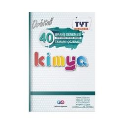 Orbital Yayınları - Orbital Yayınları TYT Kimya Orbital 40 Branş Denemesi