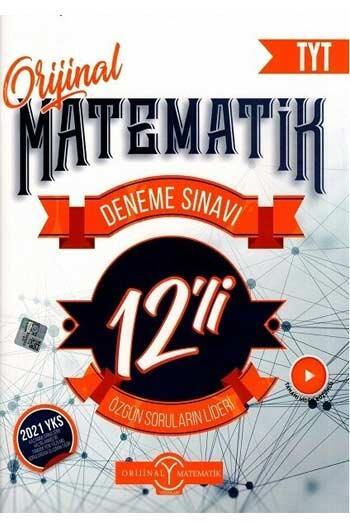 Orijinal Yayınları - Orijinal Yayınları 2021 TYT Orijinal Matematik 12 li Deneme Sınavı