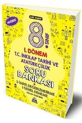 Örnek Akademi Yayınları - Örnek Akademi 8. Sınıf LGS 1. Dönem T.C İnkılap Tarihi ve Atatürkçülük Soru Bankası