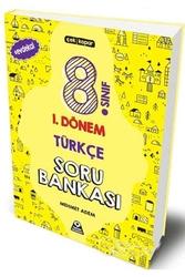 Örnek Akademi Yayınları - Örnek Akademi 8. Sınıf LGS 1. Dönem Türkçe Soru Bankası