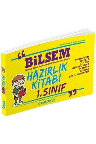 Zeki Çocuk Yayınları 1. Sınıf BİLSEM Hazırlık Kitabı