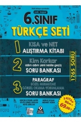 Örnek Akademi Yayınları - Örnek Akademi Yayınları 6. Sınıf Türkçe Seti