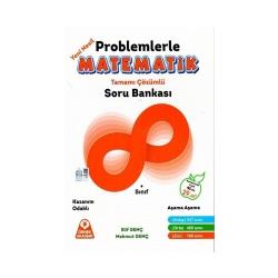 Örnek Akademi Yayınları - Örnek Akademi Yayınları 8.Sınıf Problemlerle Matematik Tamamı Çözümlü Soru Bankası