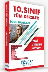 Oscar Yayınları - Oscar Yayınları 10. Sınıf Tüm Dersler Soru Bankası