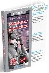 Oscar Yayınları - Oscar Yayınları 5. Sınıf Tüm Dersler Çek Kopart Yaprak Test