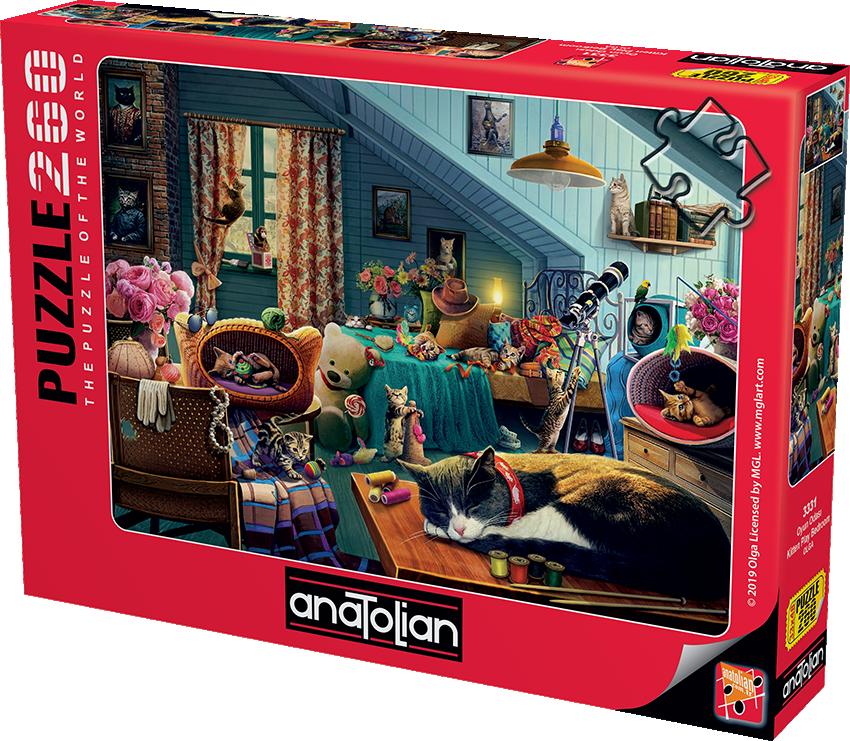 Anatolian - Oyun Odası / Kitten Play Bedroom