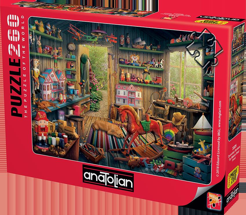 Anatolian - Oyuncakçı Barakası / Toy Makers Shed