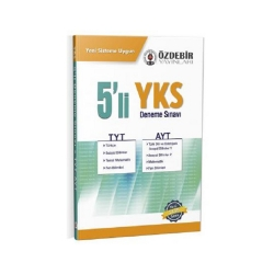 Özdebir Yayınları - Özdebir Yayınları TYT-AYT 5'li Deneme Sınavı