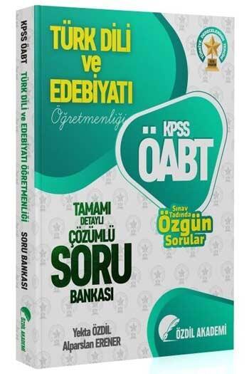 Özdil Akademi - Özdil Akademi 2021 ÖABT Türk Dili ve Edebiyatı Öğretmenliği Tamamı Çözümlü Soru Bankası