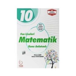 Palme Yayıncılık - Palme Yayınları 10. Sınıf Fen Liseleri Matematik Konu Anlatımı