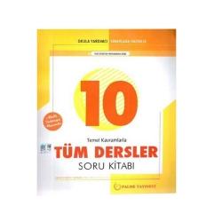 Palme Yayıncılık - Palme Yayınları 10. Sınıf Tüm Dersler Soru Kitabı