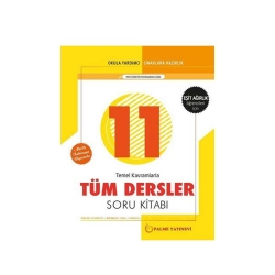 Palme Yayıncılık - Palme Yayınları 11. Sınıf Eşit Ağırlık Tüm Dersler Soru Kitabı