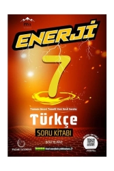 Palme Yayıncılık - Palme Yayınları 7. Sınıf Türkçe Enerji Soru Kitabı