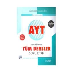 Palme Yayıncılık - Palme Yayınları AYT Eşit Ağırlık Temel Kavramlarla Tüm Dersler Soru Kitabı