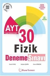 Palme Yayıncılık - Palme Yayınları AYT Fizik 30 Deneme Sınavı