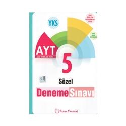 Palme Yayıncılık - Palme Yayınları AYT Sözel 5 Deneme Sınavı