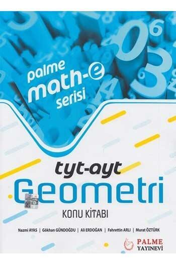 Palme Yayıncılık - Palme Yayınları TYT AYT Geometri Konu Kitabı Palme Mathe Serisi