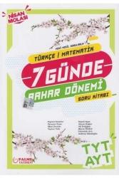 Palme Yayıncılık - Palme Yayınları TYT AYT Türkçe Matematik 7 Günde Bahar Dönemi Soru Kitabı