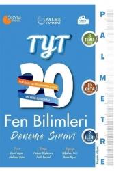 Palme Yayıncılık - Palme Yayınları TYT Fen Bilimleri Palmetre Serisi 20 Deneme Video Çözümlü