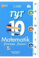 Palme Yayıncılık - Palme Yayınları TYT Matematik Palmetre Video Çözümlü 10 Deneme