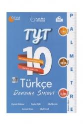 Palme Yayıncılık - Palme Yayınları TYT Türkçe Palmetre Serisi 10 Deneme Video Çözümlü