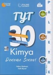 Palme Yayıncılık - Palme Yayınları YKS TYT Kimya Palmetre 30 Deneme Video Çözümlü