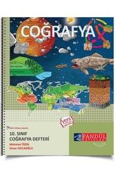 Pandül Yayınları - Pandül Yayınları 10. Sınıf Coğrafya Defteri