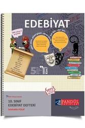 Pandül Yayınları - Pandül Yayınları 10. Sınıf Edebiyat Defteri