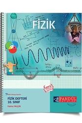 Pandül Yayınları - Pandül Yayınları 10. Sınıf Fizik Defteri