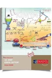 Pandül Yayınları - Pandül Yayınları 10. Sınıf Kimya Defteri